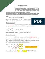 A.5 Teoria. Determinantes