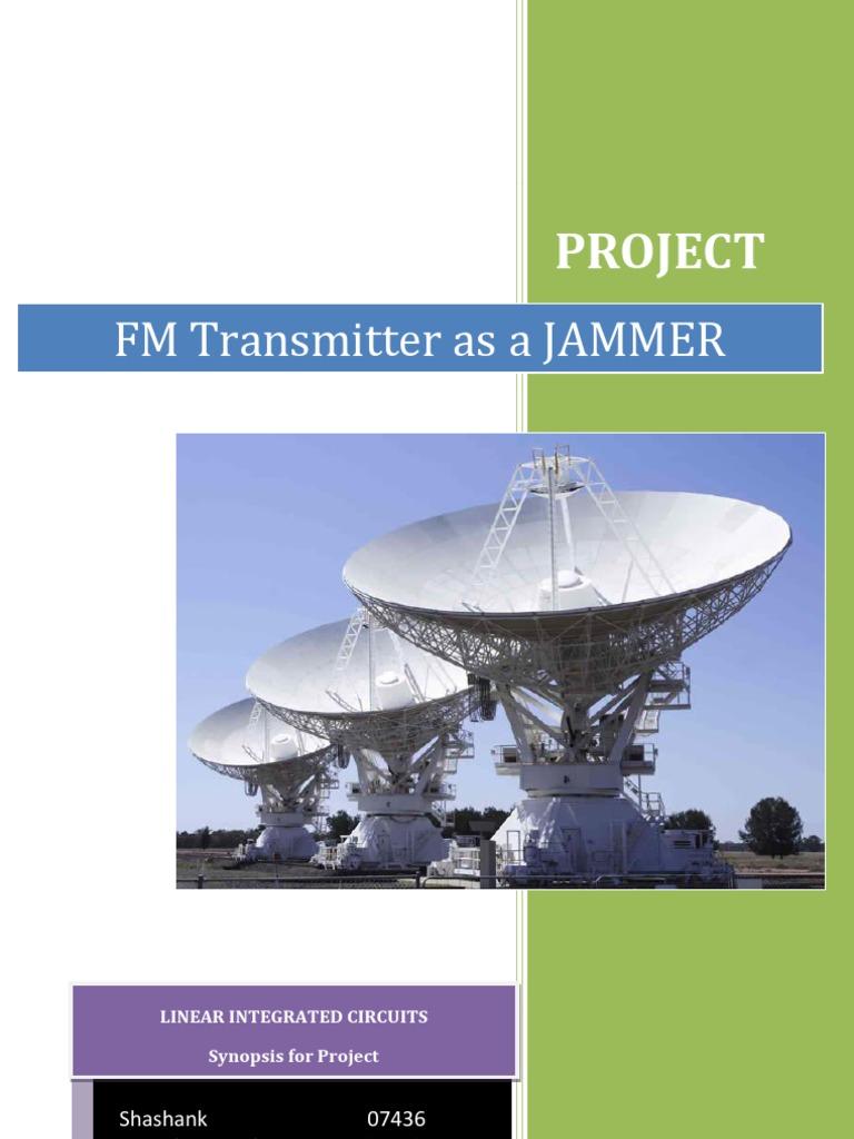 Fm Jammer Electronic Oscillator Amplifier Circuit Furthermore Long Range Transmitter Diagram On Ir
