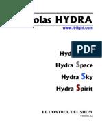 Manual Hydras320