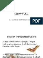 Sejarah Transportasi Udara