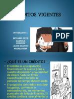 CREDITOS VIGENTES
