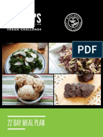 Vegan Meal Challenge Recipe Book