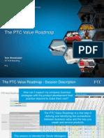 PTC Tech Day - The PTC Value Roadmap - Shoemaker