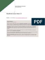 Handbook Linux Sehat 3.3