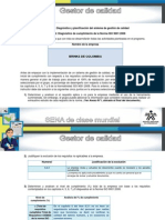 Diagnostico y Planificación de SGC Unidad N 1