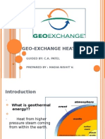geo exchange heat pump