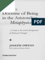 [Joseph Owens] Doctrine of Being in the Aristoteli(BookFi.org)