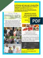 Doongalik Studios June/July 2014 Art Newsletter