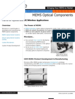 Micralyne MEMS Optical Products