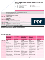 Detailed Programme