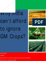 Why India Cant Afford to Ignore GM Crops