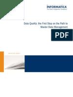 Mdm Data Quality