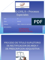Proceso Suplitorio Ptt