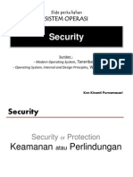 SO 2013-2014 - [09] - Security