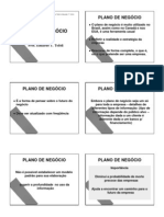Definição E Estrutura de Um Plano de Negócios