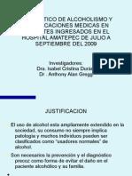 Alcoholismo y problemas relacionados con el alcohol