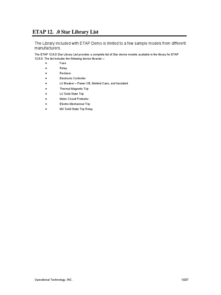 Star Library List Etap 12 6