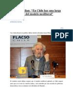 1 Tomás Moulian.docx Trdicion Neoliberal en Chile