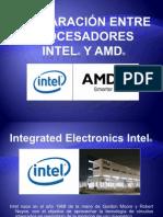 Comparación Entre Procesadores INTEL y AMD