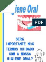 Sessão de Educação Sobre Higiene Oral