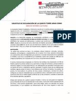 Solicitud BIC para la Quinta y el Palacio de Torre Arias