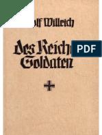 Willrich, Wolfgang - Des Reiches Soldaten (1943, 71 S., Scan, Fraktur)