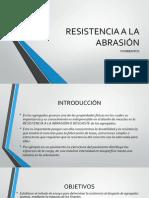 Resistencia Abrasion Fin