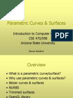 Parametric Curves Surfaces
