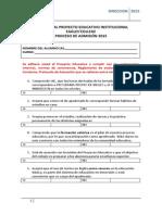 Formulario Adhesión Al PEI