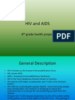8th grade health powerpoint on hiv and aids (stds)