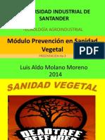 3. ALDO Prevención en Sanidad Vegetal 2014
