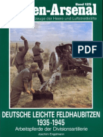 Waffen Arsenal - Band 125 - Deutsche leichte Feldhaubitzen 1935-1945