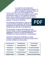 ARTICULACIÓN-Interpretación