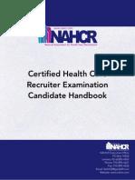 NAHCR Candidate Handbook