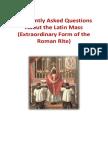 Latin Mass Booklet