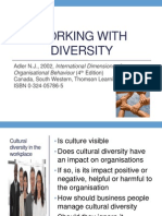 Working With Diversity