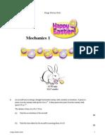 Mechanics 1 All Topics 22.5 Questions
