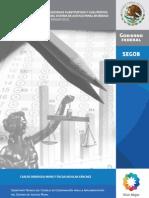 Analisis Sistema de Justicia Penal Setec 2012