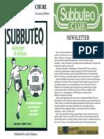 Subbuteo Club Magazine Mag2