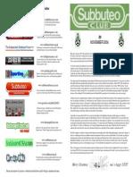 Subbuteo Club Magazine Mag9