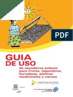 Manual de Secaderos Solares