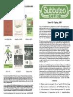 Subbuteo Club Magazine Mag18