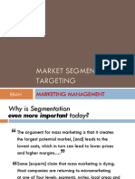 6 - Market Segmentation & Targeting COPY