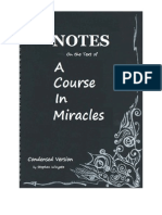 Stephen Wingate - Notes on the Text of a Course in Miracles (Condensed Version)