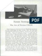 Susan Sontag the Art of Fiction
