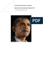 Is Obama Really the Worst American President?  - A Rejoinder to the Quinnipiac National Poll