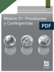 21 Provisiones y Contingencias