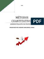 METODOS CUANTITATIVOS