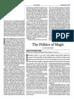 GRAEBER, David - The Politics of Magic