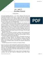 'I' is a Door, Part 3 - Atmananda (Krishna Menon)